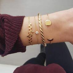 Alliage Bracelets Bijoux de plage (Lot de 4)