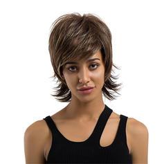 Straight Human Hair Human Hair Wigs