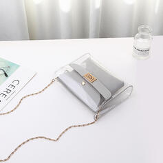 De moda/Lindo/Color sólido/Simple Bolso de Hombro