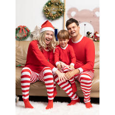 Striped Family Matching Christmas Pajamas