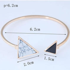 Fashionable Alloy Resin Ladies' Fashion Bracelets
