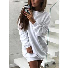 Coton Couleur unie Sweat-shirts