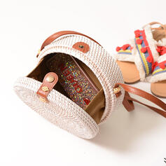 Charme/Clássica/Estilo boêmio/Trançado Bolsa de Ombro/Sacos de praia