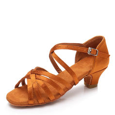 Frauen Latin Satin Latin