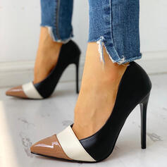 Women's PU Stiletto Heel Pumps shoes