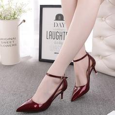 Femmes Similicuir Talon bas Sandales Escarpins chaussures