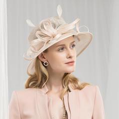 Ladies ' High Quality/Romantisk/Vintage Kambriske med Fjer Fascinators/Kentucky Derby Hatte/Tea Party Hats