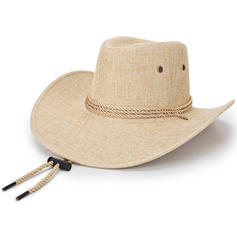 Men's Unique Linen Cowboy Hats
