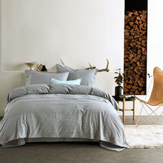 Linen Reactive Print 3 piece Duvet Covers