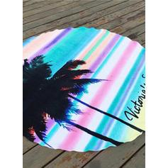 paski Oversized/okrągły/atrakcyjny ręcznik plażowy