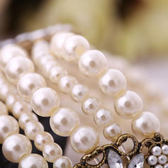 Beautiful Resin With Imitation Pearl Women's Bracelets