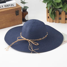 Ladies ' Classic med Bowknot Strand / Sun Hatte