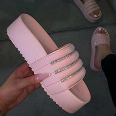 Жіночі Пластмаси Низька підошва Тапочки взуття