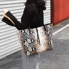 Elegant/Fashionable/Alligator Pattern/Vintga Tote Bags/Shoulder Bags/Bag Sets