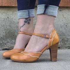 Dámské PU Jehlový podpatek Lodičky S Přezka obuv