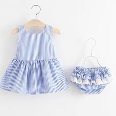 50a5397f1f ... Baby & Kleinkind Mädchen Gestreift Baumwolle Pants,Ärmelloses Kleid  Stellen Sie Größe ...