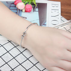 Fashionable Alloy Crystal With Imitation Crystal Fashion Bracelets (Sold in a single piece)