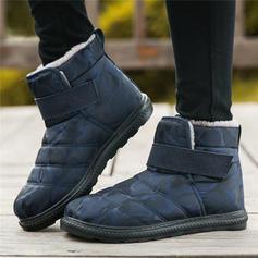 Donna Panno Tacco basso Stivali alla caviglia Stivali da neve con Altrui scarpe