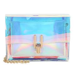 Unique/Transparent PVC Clutches/Shoulder Bags