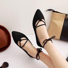 Kvinnor Mocka Flat Heel Platta Skor / Fritidsskor med Bandage skor