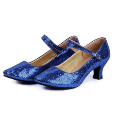 Women's Character Shoes Pumps Sparkling Glitter Modern
