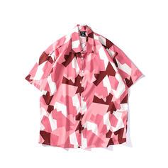 Pour des hommes Splice couleur hawaïen Chemises de plage