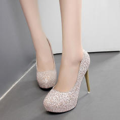 Women's Sparkling Glitter Stiletto Heel Pumps