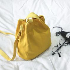 Commuting Canvas Shoulder Bags/Bucket Bags
