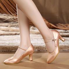 Women's Ballroom Character Shoes Heels Leatherette Latin