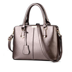Delicate PU Satchel/Shoulder Bags