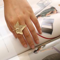 Laat vormige Messing Vrouwen Ringen