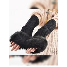 Culoare solida/croșetat modă/Vreme rece/Confortabil mănuși