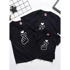 Inmprimé Tenue Familiale Assortie T-shirts