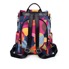 Girly/Splice Color/Floral Satchel/Backpacks