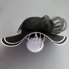Dames Spécial/Élégante/Simple Raphia paille avec Tulle Chapeau de paille