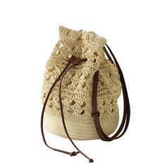 Classical/Bohemian Style/Braided Beach Bags/Bucket Bags