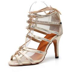 Women's PU Stiletto Heel Sandals shoes