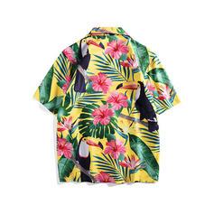 Mænd Hawaii Beach Shirts