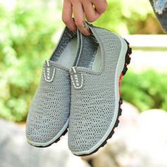 Women's Fabric Casual Outdoor Athletic With Hollow-out shoes