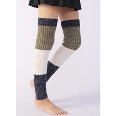 Solid Color/Stitching Warm/Breathable/Comfortable/Women's/Leg Warmers/Boot Cuff Socks Socks/Stockings