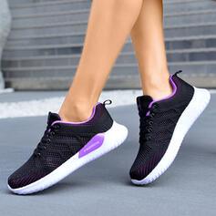 Γυναίκες Πλέγμα Ανέμελος ΕΞΩΤΕΡΙΚΟΥ ΧΩΡΟΥ Αθλητικός Με Κέντημα-επάνω παπούτσια
