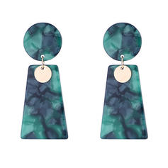 Fashionable Alloy Acrylic Women's Fashion Earrings