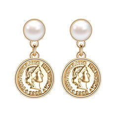 Charming Hottest Alloy Imitation Pearls Earrings