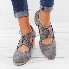 Femmes PU Talon bottier Sandales avec Dentelle chaussures