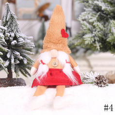 Gnome Merry Christmas Cloth Doll