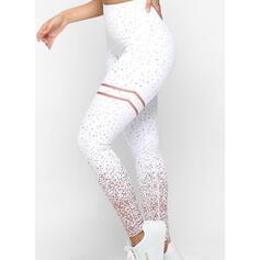 Print Long Skinny Print Yoga Leggings