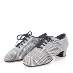 Men's Latin Heels Canvas Latin