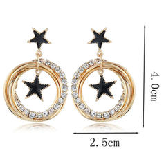 Gorgeous Exquisite Alloy Rhinestones Women's Earrings