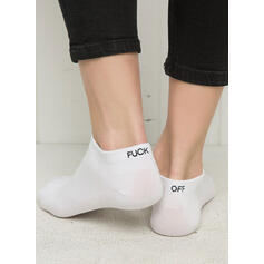 Einfarbig/Buchstaben Atmungsaktiv/Ankle Socks/Unisex Socken