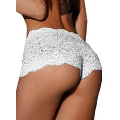 Lace Mesh Boyshort Panty